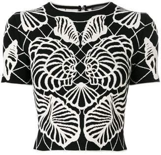 Alexander McQueen Spine Shell top
