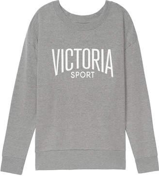 Victoria Sport Fleece Oversized Crew