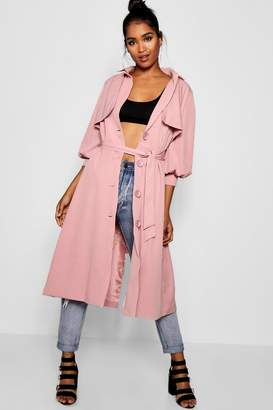 boohoo Balloon Sleeve Mac