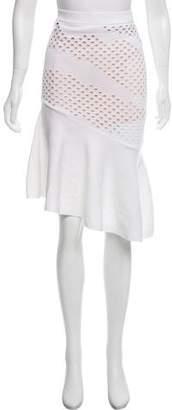 Pinko Flounce Knee-Length Skirt w/ Tags