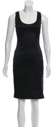 The Row Sleeveless Satin Dress