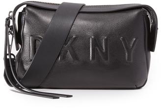DKNY Logo Cross Body Bag $298 thestylecure.com