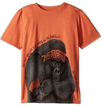 Life is Good Too Many Cheetahs Cool Tee Boy's T Shirt