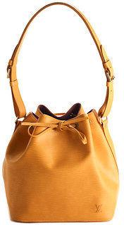 Louis VuittonLouis Vuitton Yellow Epi Leather Gold Tone Petit Noe Handbag BCL-99 MHL