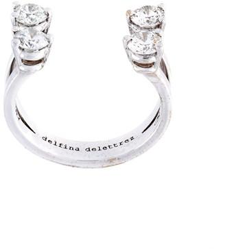 Delfina Delettrez 'Dots' diamond phalanx ring