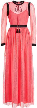 Philosophy di Lorenzo Serafini Lace Maxi Dress with Tassels