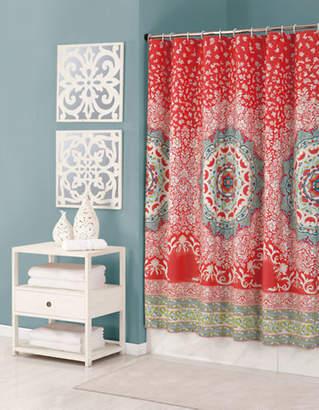 Jessica Simpson Amerita Medallion Shower Curtain