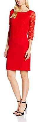 More & More Women's Kleid Kurz Dress (Magic red 0517)
