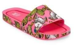 Mini Melissa Girl's Mel Beach Slides