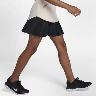Nike NikeCourt Victory Big Kids' (Girls') Tennis Skirt