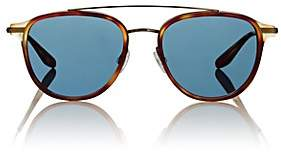 Barton Perreira Men's Courtier Sunglasses-Brown
