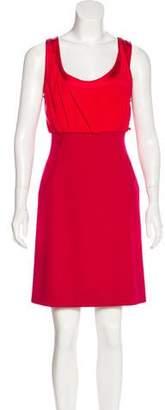 Zac Posen Silk & Wool Dress