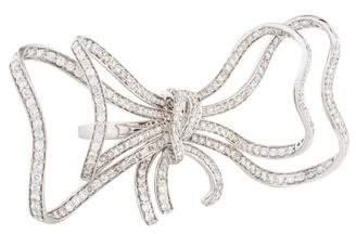 Ring 18K Diamond Bow
