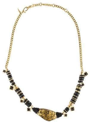 Alexis Bittar Custom Sequin Strand Pendant Necklace