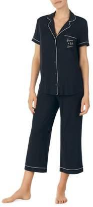 Kate Spade Capri Short Sleeve Pajamas