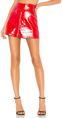 Adam Selman Foldover Mini Skirt