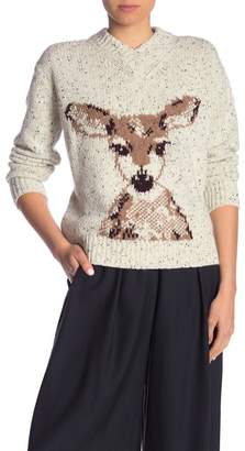 Paul & Joe Sister Cerbiatto Deer Sweater