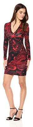 Just Cavalli Women's Rock Romance Print Bodycon Dress