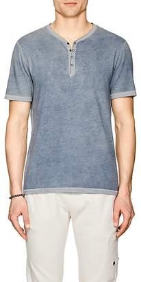 John Varvatos Men's Cotton-Blend Henley