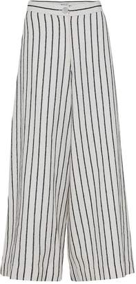 Mcverdi Striped Wide 1970'S Inspired Pants