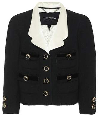 Marc Jacobs Cropped wool tweed jacket
