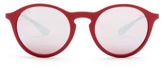 Ray-Ban 49mm Round Keyhole Sunglasses