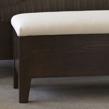 Upholstered Fir Chest