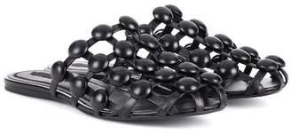 Alexander Wang Amelia studded leather slippers