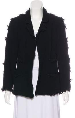 Chanel Wool Notch-Lapel Jacket