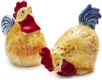 Sur La Table Jacques Pepin Collection Figural Chicken Salt and Pepper Shakers