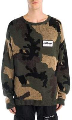 Off-White Camouflage Sweater
