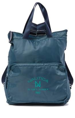 Nautica Logo Pocket Backpack