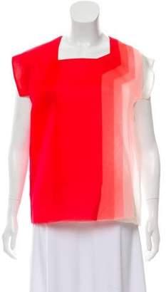 Fendi Silk Chiffon Top
