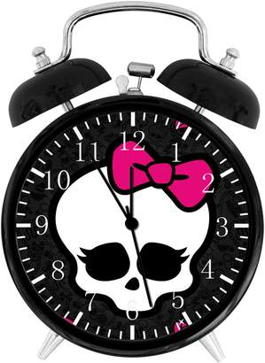 "Ikea New Monster High Alarm Desk Clock 3.75"" Room Decor W01 Will Be a Nice Gift"