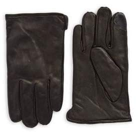 Calvin Klein Lined Leather Gloves