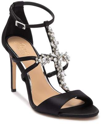 Badgley Mischka Galvin Embellished Heeled Sandal