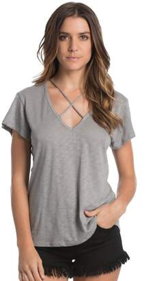 Elan International Criss Cross Tee