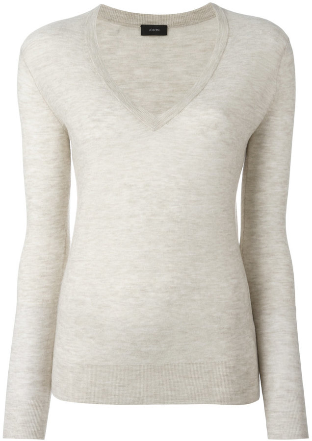 JOSEPH Joseph V-neck slim-fit jumper