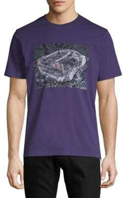 Robert Graham Zoom Zoom Graphic Cotton Tee