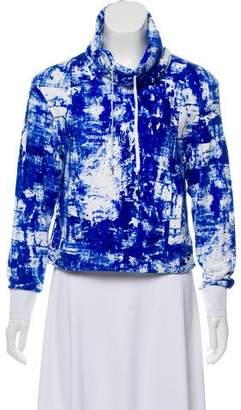 Helmut Lang Printed Long Sleeve Sweatshirt