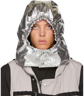A-Cold-Wall* A Cold Wall* Silver Aluminium Hood