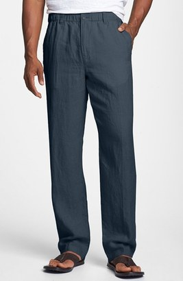 Men's Big & Tall Tommy Bahama 'New Linen On The Beach' Linen Pants $110 thestylecure.com
