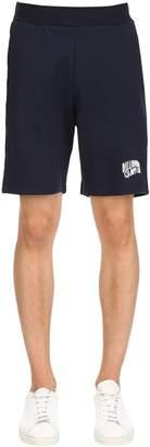 Logo Detail Cotton Sweat Shorts