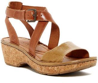 Josef Seibel Kira Strappy Leather Wedge Sandal $125 thestylecure.com