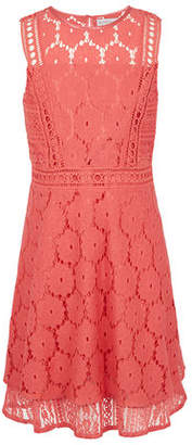 BCBGMAXAZRIA Multi-Lace Overlay Dress - Girls