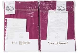 Yves Delorme Pair of Triomphe Rubino Pillow Shams w/ Tags