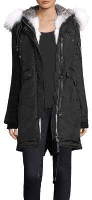 Nicole Benisti Madison Fur Lined Parka