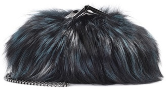 Cara fur shoulder bag