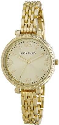 Laura Ashley Women's LA31006YG Analog Display Japanese Quartz Watch