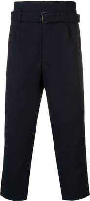 CABANE de ZUCCa dropped crotch trousers